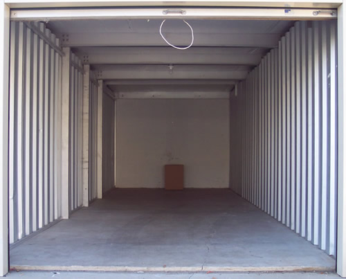 Great 10x30 Storage Unit. Larger One Car Garage